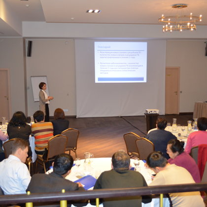 Advanced course on clinical management of drug-resistant tuberculosis